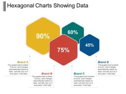 Hexagonal Charts Showing Data