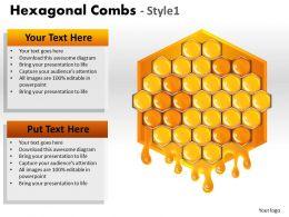 Hexagonal Combs