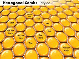 Hexagonal Combs Style 2