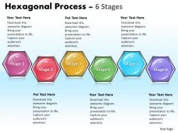 Hexagonal Process 6 Stages 1