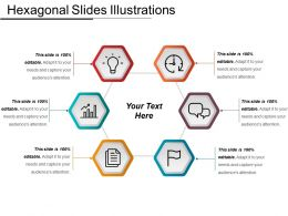 Hexagonal Slides Illustrations Ppt Ideas