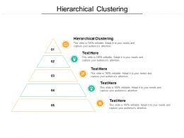 Hierarchical Clustering Ppt Powerpoint Presentation Ideas Layouts Cpb