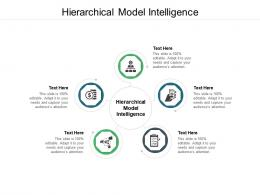 Hierarchical Model Intelligence Ppt Powerpoint Presentation Icon Design Ideas Cpb