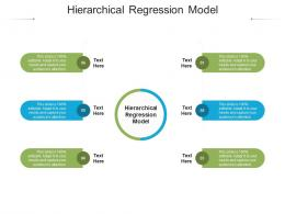 Hierarchical Regression Model Ppt Powerpoint Presentation Infographics Samples Cpb