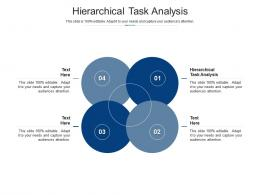 Hierarchical Task Analysis Ppt Powerpoint Presentation Icon Images Cpb