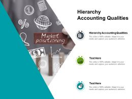 Hierarchy Accounting Qualities Ppt Powerpoint Presentation Outline Diagrams Cpb
