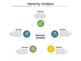 Hierarchy Analytics Ppt Powerpoint Presentation Ideas Model Cpb