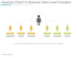 hierarchy_chart_for_business_team_level_formation_powerpoint_templates_Slide01