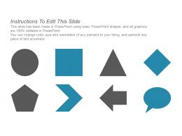 99352045 Style Hierarchy 1-Many 5 Piece Powerpoint Presentation Diagram Infographic Slide