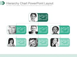 Hierarchy Chart Powerpoint Layout