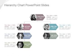 Hierarchy Chart Powerpoint Slides
