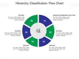 Hierarchy Classification Flow Chart Ppt Powerpoint Presentation Inspiration Summary Cpb