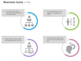 Hierarchy Crm Selection Of Right Person With Gears Ppt Icons Graphics