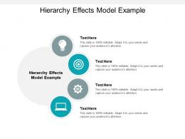 Hierarchy Effects Model Example Ppt Powerpoint Presentation Show Images Cpb
