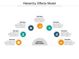 Hierarchy Effects Model Ppt Powerpoint Presentation Gallery Display Cpb