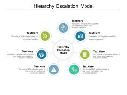 Hierarchy Escalation Model Ppt Powerpoint Presentation Portfolio Graphics Design Cpb