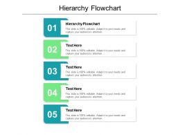 Hierarchy Flowchart Ppt Powerpoint Presentation Infographic Template Visuals Cpb