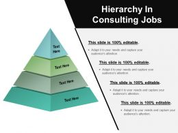 Hierarchy In Consulting Jobs Ppt Images Gallery