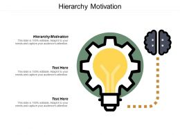 Hierarchy Motivation Ppt Powerpoint Presentation File Layout Ideas Cpb
