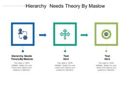 Hierarchy Needs Theory By Maslow Ppt Powerpoint Presentation Inspiration Example Cpb