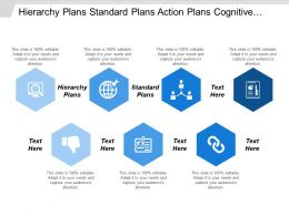 Hierarchy Plans Standard Plans Action Plans Cognitive Radio