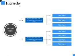 Hierarchy Powerpoint Presentation