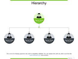 Hierarchy PowerPoint Slide Background Designs