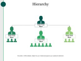 Hierarchy Powerpoint Slide Introduction