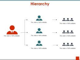 Hierarchy PPT Ideas