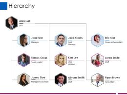 Hierarchy Ppt Influencers
