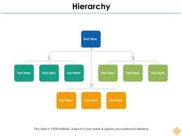 Hierarchy Ppt Inspiration Icon