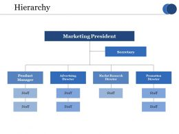 Hierarchy Ppt Layouts Aids