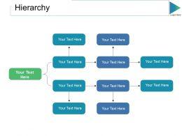 Hierarchy Ppt Slides Sample