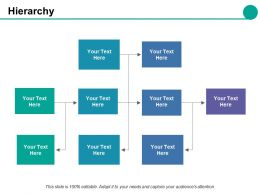 Hierarchy Ppt Styles Background Image