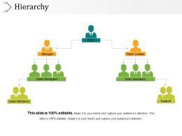 Hierarchy Presentation Portfolio