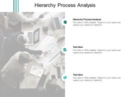 Hierarchy Process Analysis Ppt Powerpoint Presentation Slides Format Cpb