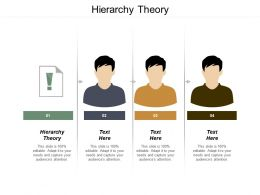 Hierarchy Theory Ppt Powerpoint Presentation File Master Slide Cpb