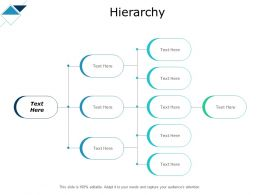 Hierarchy With Four Steps Ppt Powerpoint Presentation Pictures Display