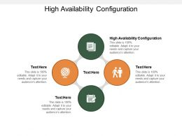 High Availability Configuration Ppt Powerpoint Presentation Styles Format Cpb