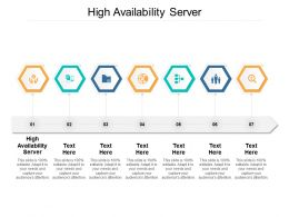 High Availability Server Ppt Powerpoint Presentation Layout Cpb