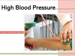 High Blood Pressure Diagnosing Injecting Medicine Measuring Equipment Surface
