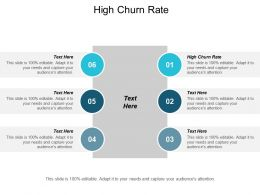 High Churn Rate Ppt Powerpoint Presentation File Design Templates Cpb