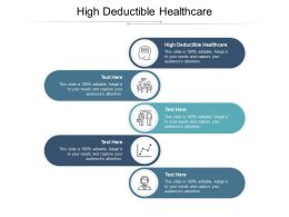 High Deductible Healthcare Ppt Powerpoint Presentation File Deck Cpb
