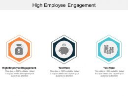 High Employee Engagement Ppt Powerpoint Presentation Slides Design Templates Cpb
