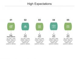 High Expectations Ppt Powerpoint Presentation Gallery Portrait Cpb