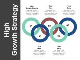 High Growth Strategy Ppt Powerpoint Presentation Styles Graphics Template Cpb