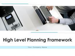 High Level Planning Framework Professional Services Planning Coronavirus