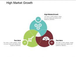 High Market Growth Ppt Powerpoint Presentation Infographic Template Icons Cpb