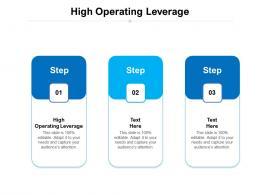 High Operating Leverage Ppt Powerpoint Presentation Portfolio Format Cpb