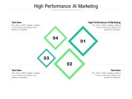 High Performance Ai Marketing Ppt Gallery Design Inspiration Cpb